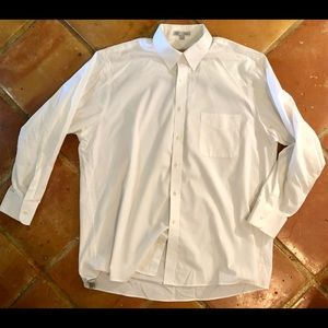 Geoffrey Beene white button down
